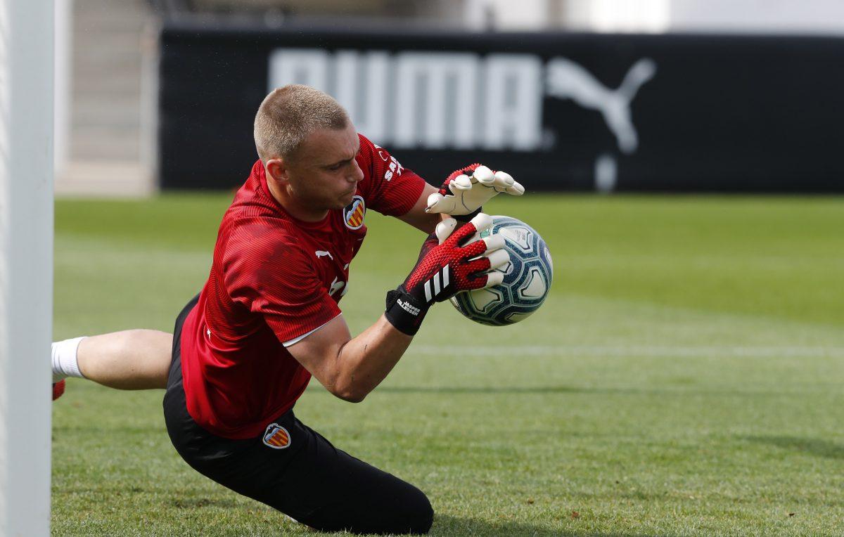 Entrenamiento Valencia CF Cillessen