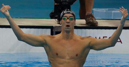 MICHAEL PHELPS deportistas con más medallas olímpicas