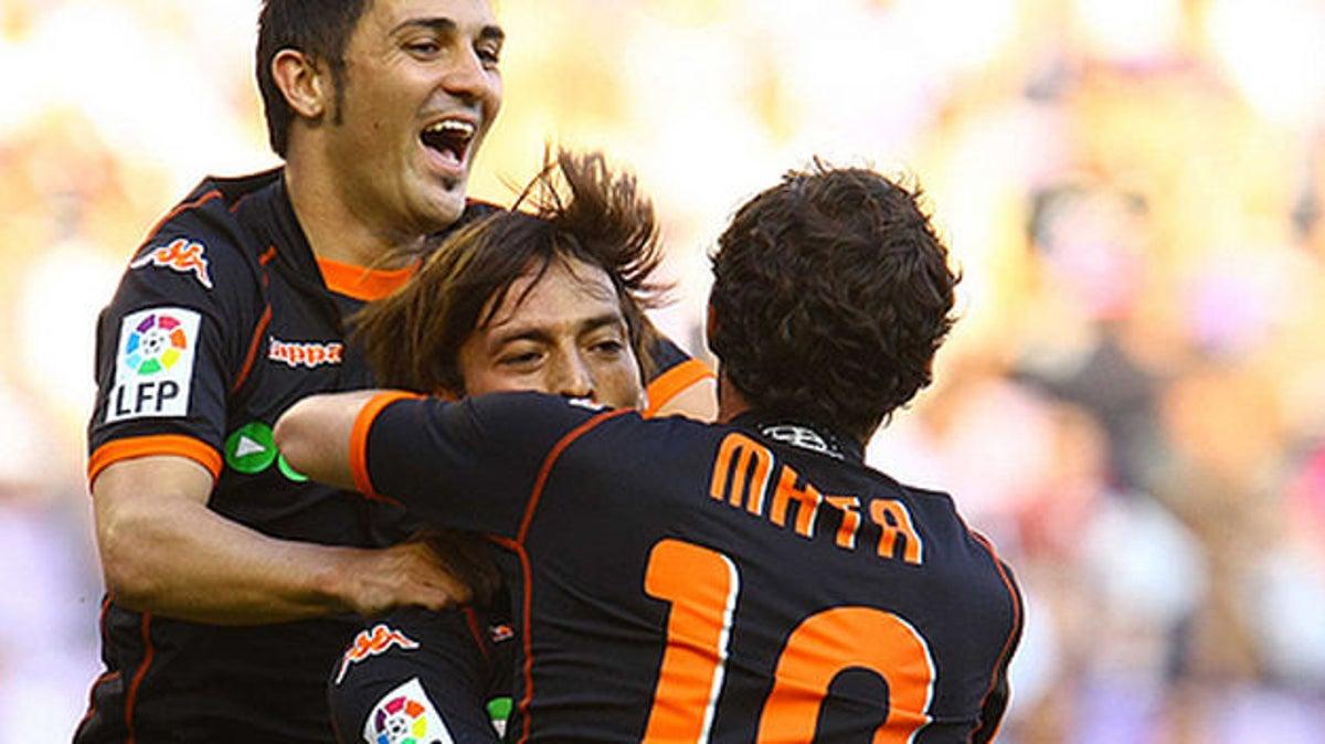 Villa, Silva y Mata.