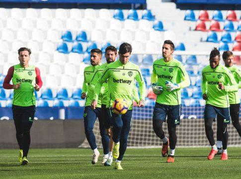 entrenamiento Levante UD