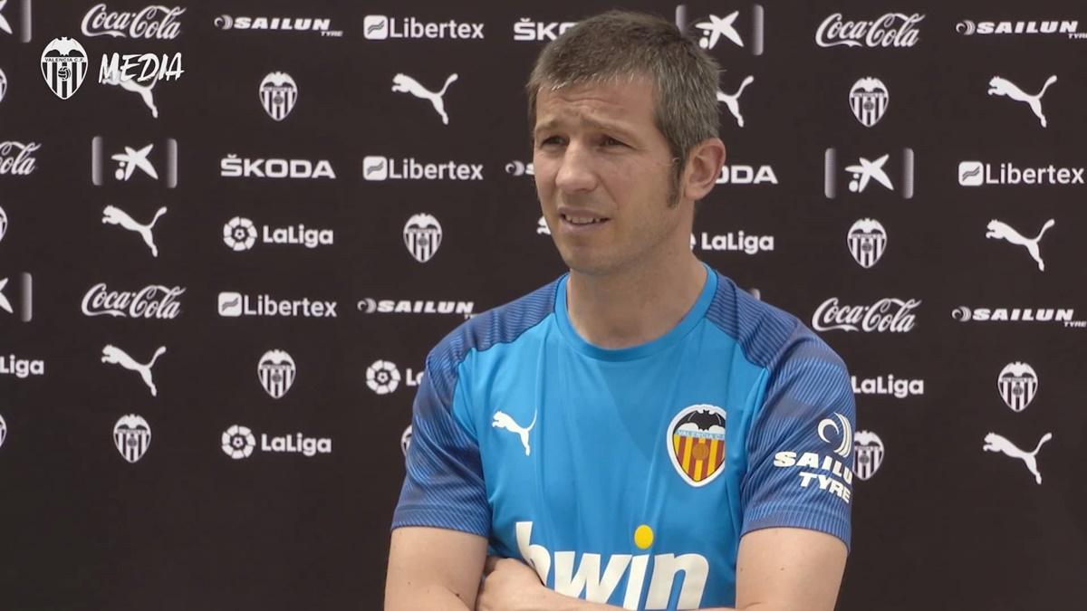Albert Celades Valencia CF
