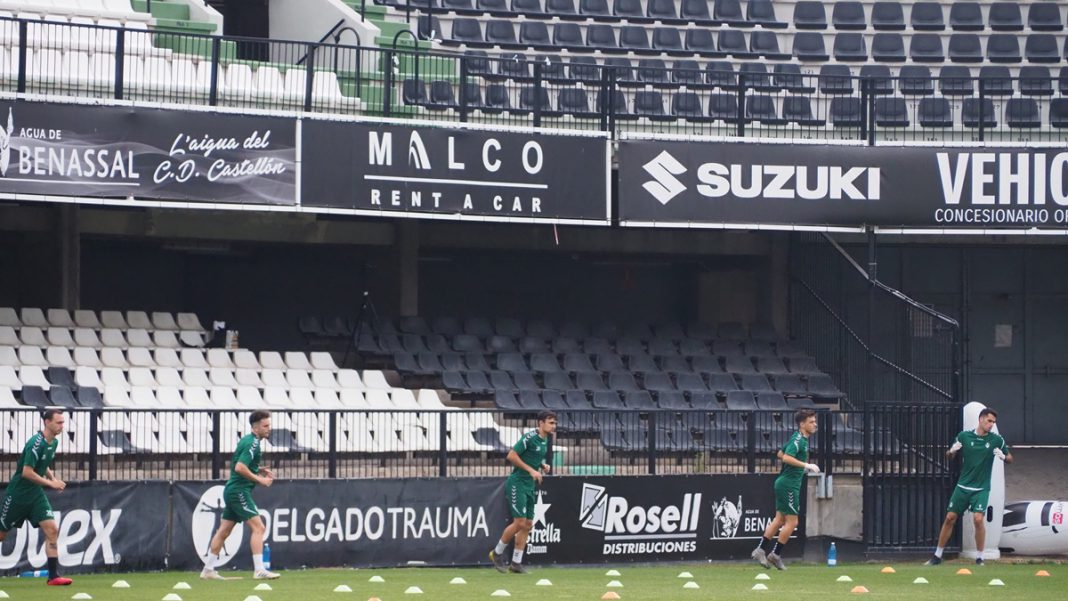 CD Castellon entrenamientos