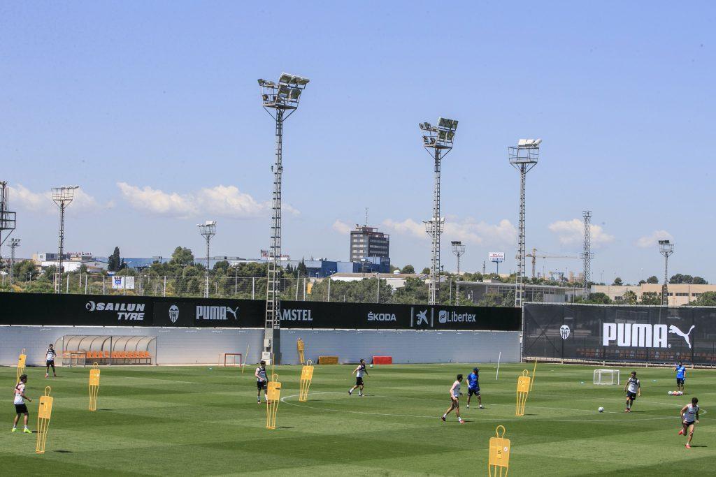 Entrenamiento Valencia CF grupal