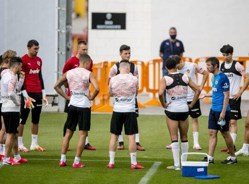 Valencia cf entrenamiento