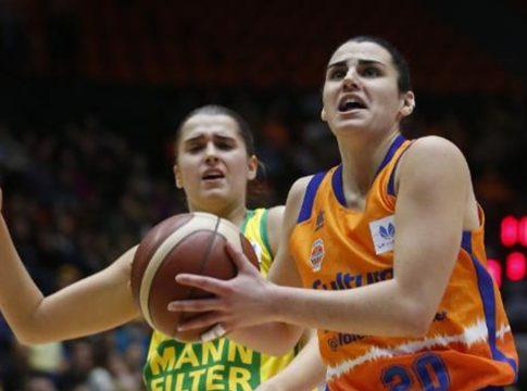 leticia romero valencia basket