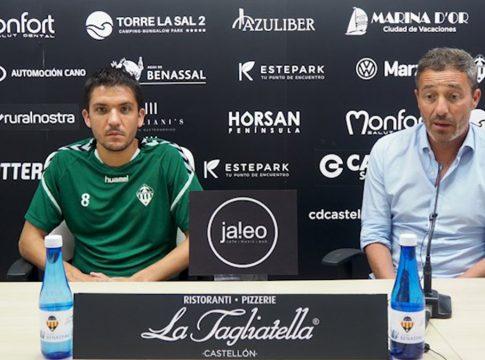 Óscar Cano y Carles Salvador CD Castellon