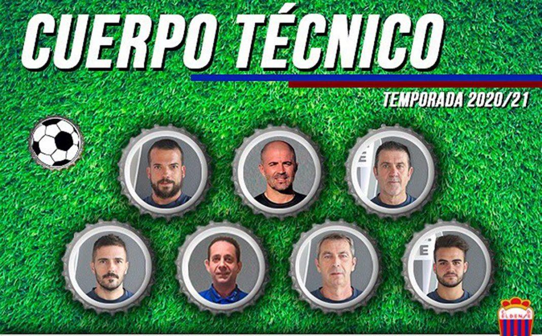 Cuerpo tecnico eldense 2020-2021