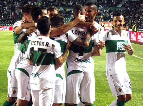 Elche CF celebracion gol