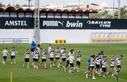 Entrenamiento Valencia CF