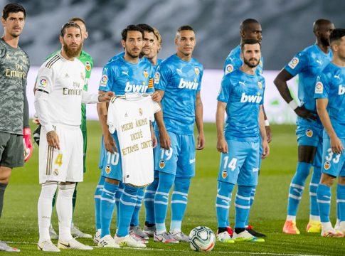 Real Madrid-Valencia Unzue