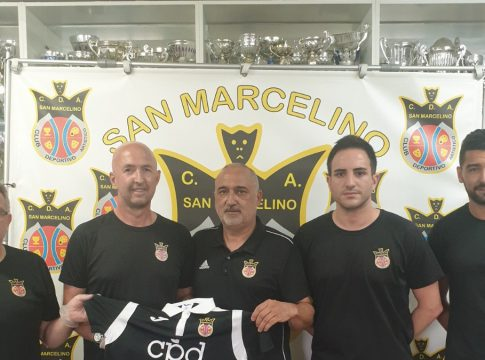 San Marcelino cuerpo tecnico