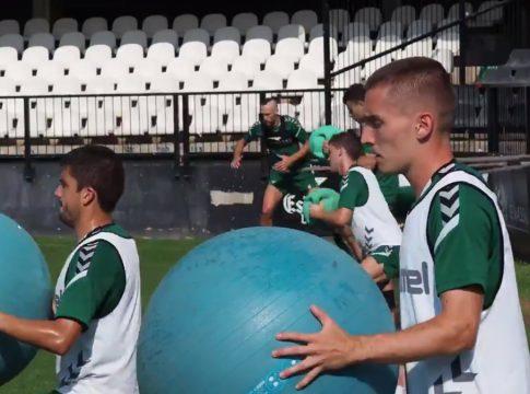 entrenamiento CD Castellon