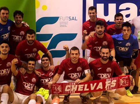 Ascenso Chelva FS Alboraya Futbol Sala
