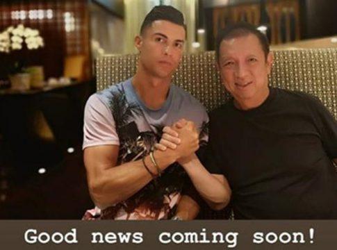 Cristiano Ronaldo Peter Lim