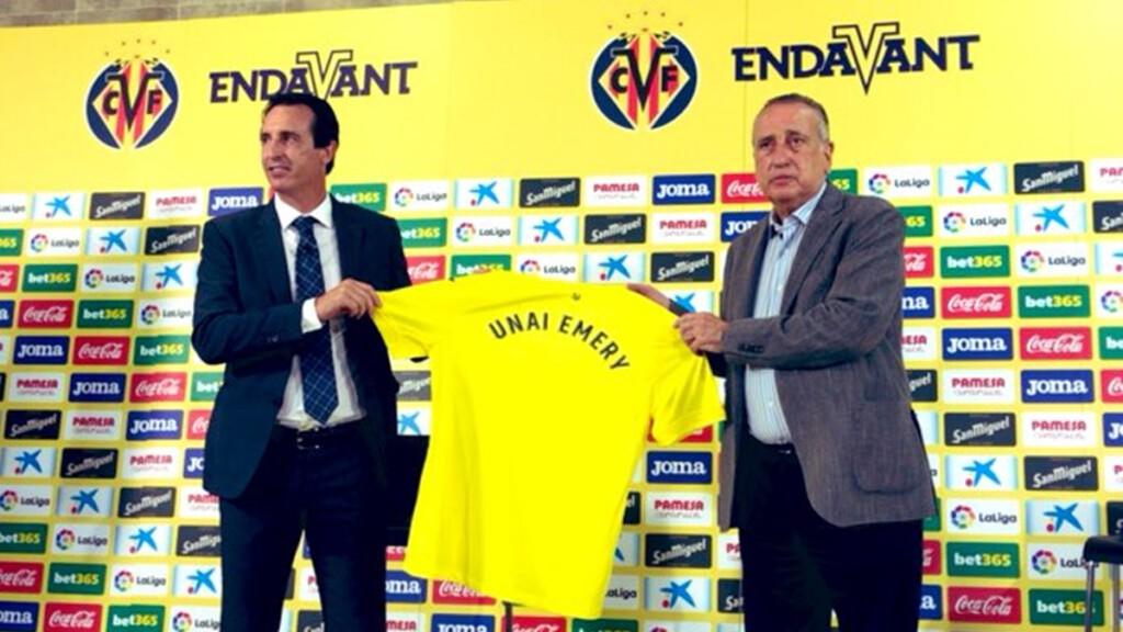 Unai Emery Villarreal CF