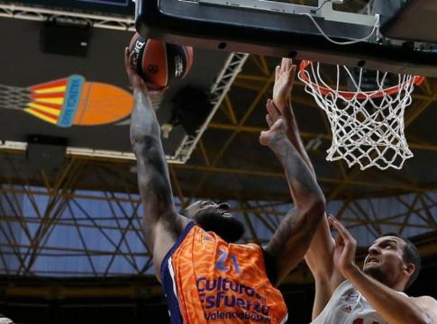 Derrick Williams valencia basket