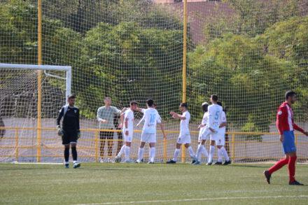 Imagen del partido entre Illescas y Torrijos. Illescas
