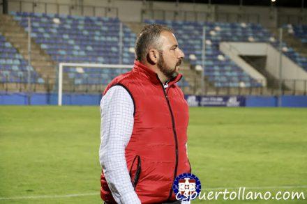 Darío Martín, entrenador del CS Puertollano esta temporada en Tercera. CS Puertollano