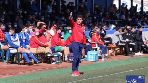 Manolo Martínez, entrenador del Yugo Socuéllamos esta temporada. Yugo UD Socuéllamos