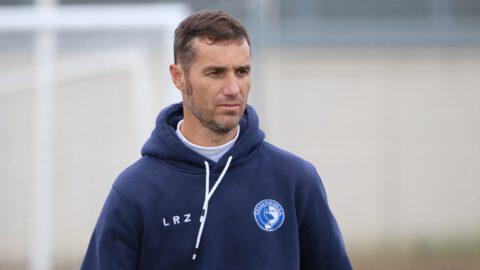 Iván Helguera entrenador Las Rozas CF