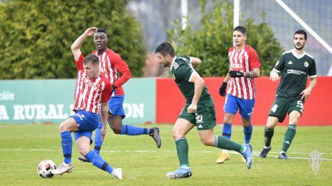 Real Sporting B - Burgos CF