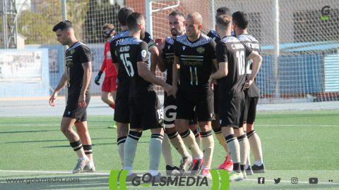 CF Intercity Jugadores celebración