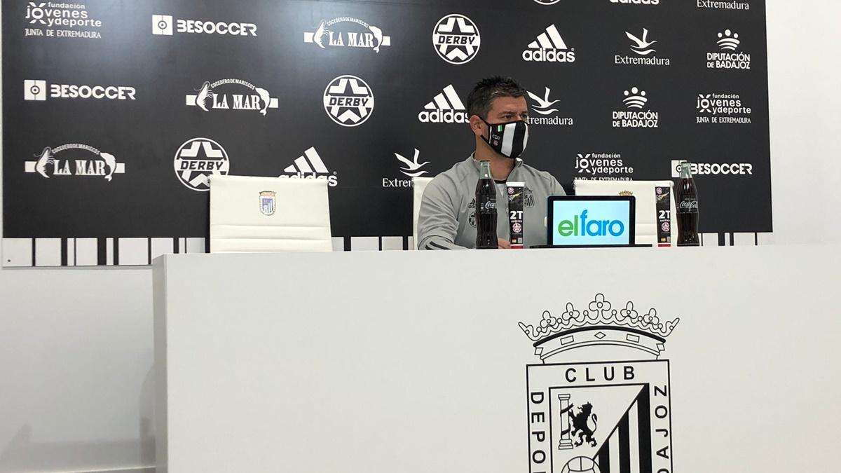 Rueda de prensa Badajoz