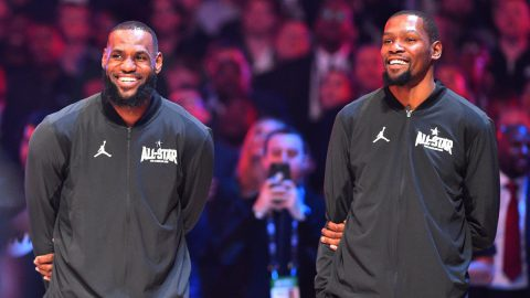 lebron james kevin durant all star nba