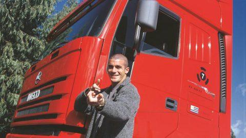 Walter Pandiani camión ferrari