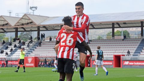 El Bilbao Athletic, filial del Athletic Club.