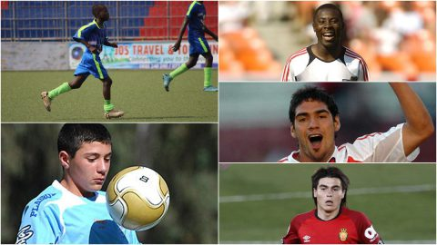 futbolisas mas jovenes debutar futbol profesional