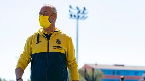 Miguel Álvarez, entrenador Villarreal B