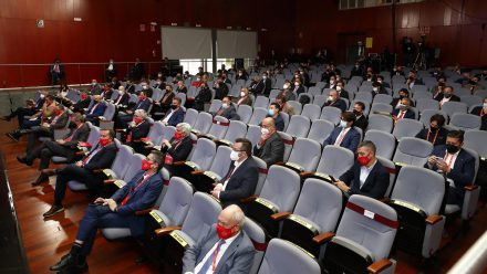 reunion primera division rfef presidentes