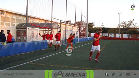 Jugadores del Atlético Saguntino