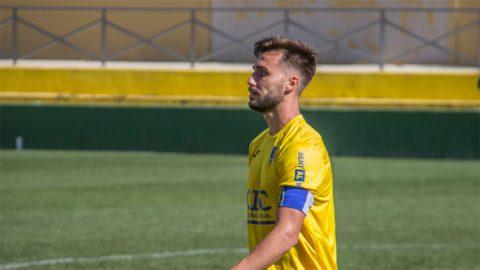 Brian Pallarés, jugador del Orihuela CF