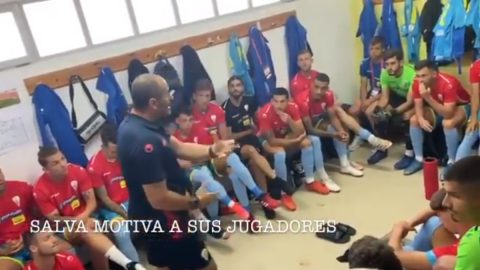 Charla partido Sanse Salva Ballesta Algeciras CF