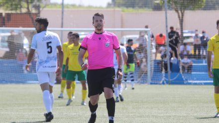 Juanan Calamonte partido ante Olivenza