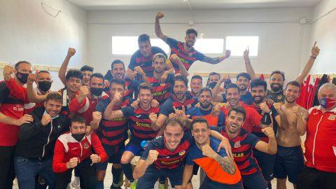 Almoradí celebra victoria contra Elda Unión