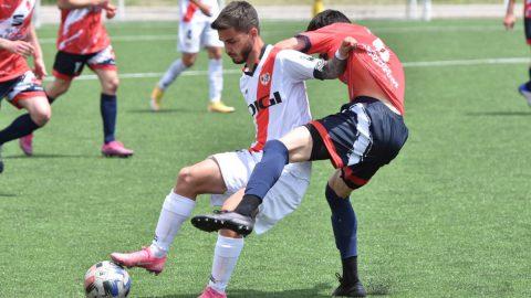 Nacho Fariña jugador Rayo Vallecano B