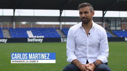 Carlos Martínez entrenador CD Leganés B
