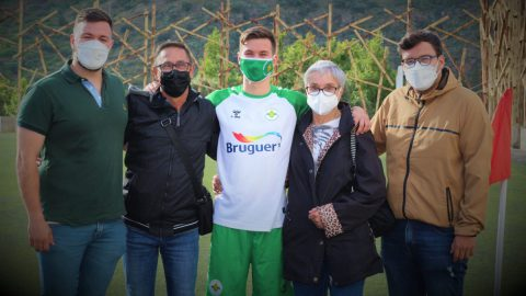 Chemy jugador UD Villa Santa Brígida