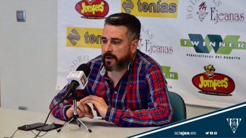Néstor Pérez rueda prensa SD Ejea