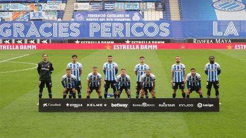 espanyol once inicial