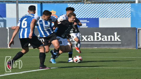 Espanyol B Peña Deportiva disputa