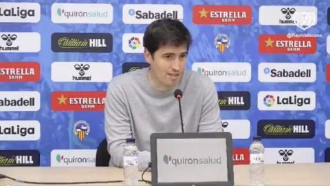 Iraola entrenador Rayo Vallecano