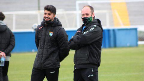 Jorge Vallejo entrenador ED Moratalaz