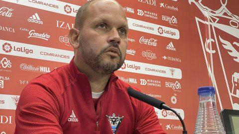 José Alberto López RP previa Fuenlabrada