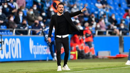 Rubén de la Barrera entrenador Depor