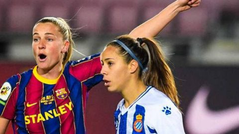 FC Barcelona Femení vs RCD Espanyol Femení