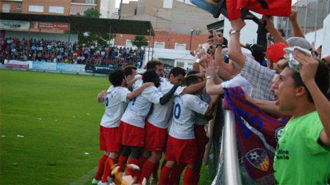 UD Alzira en un play-off